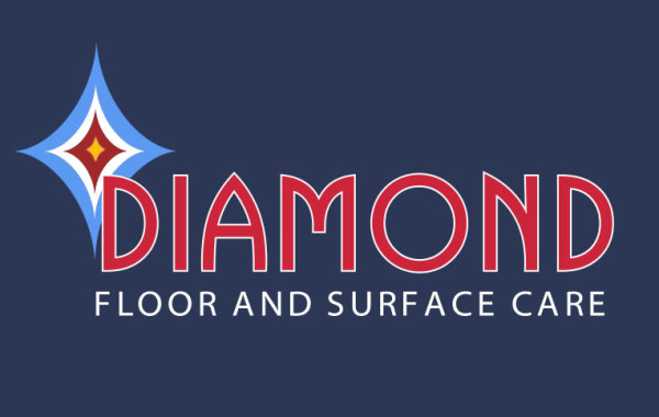 Diamond Floor and Surface Care Logo Design