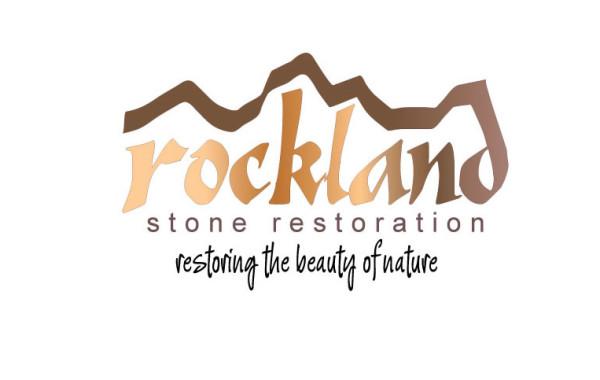 Rockland Stone Restoration Logo Design